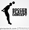 Silhouette Football Player Concept 27331512