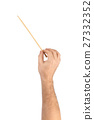 Music conductor hand 27332352