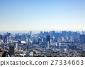 city, shooting from a high level, contemporary 27334663