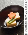 凍乾豆腐 燉 開水焯過的食物 27335617
