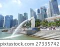 新加坡 魚尾獅 國外旅遊 27335742