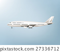 illustration vector of jet commercial airplane 27336712