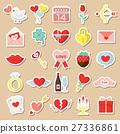 情人节 情人 图标 27336861