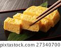 煎蛋捲 日式煎蛋 蛋 27340700