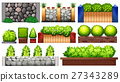 Different design of wall and fence 27343289