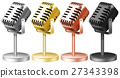 Microphone in four colors 27343398