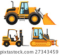 Different types of vehicle used in farming 27343459
