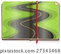Road scene in book 27343468
