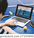 Table Tennis Ping-Pong Sport Activity Concept 27344846