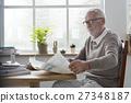 adult, leisure, newspaper 27348187