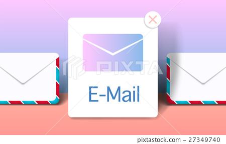 Inbox Communication Notification E-mail Mail Concept 27349740