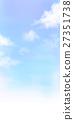 sky, light clouds, watercolour 27351738