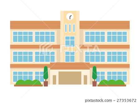 School [Flat human series] 27353672