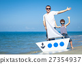 family, beach, child 27354937