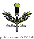 Color vintage nutritionist emblem 27355356