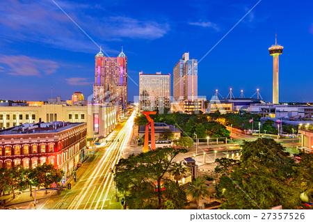 San Antonio, Texas, skyline. 27357526