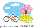 春季騎自行車MTB 27360250