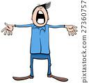 singing boy cartoon 27360757