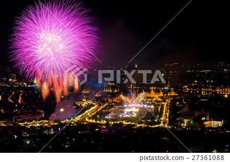 Bangkok in Thai father Day King birthday festival 27361088