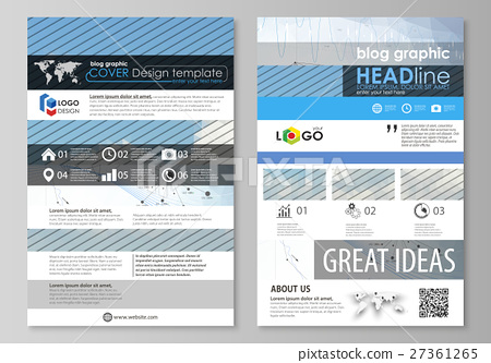Blog graphic business templates. Page website 27361265