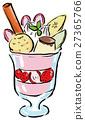 圣代 冻糕 水果冷甜点 27365766