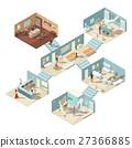concept, hospital, isometric 27366885