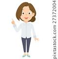 젊은 여성 일러스트 27372004