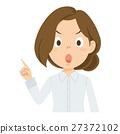 젊은 여성 일러스트 27372102