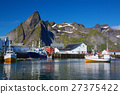 Fishing port in Norway 27375422