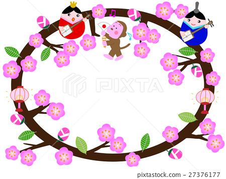 矢量 女儿节 女孩的节日 27376177