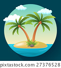 Summer Vacation Holiday Tropical Ocean Island With 27376528