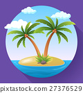 Summer Vacation Holiday Tropical Ocean Island With 27376529