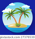 Summer Vacation Holiday Tropical Ocean Island With 27376530