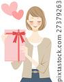 禮物 送禮 展示 27379263