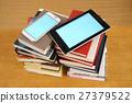 태블릿, 책, 독서 27379522