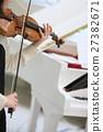 小提琴和钢琴 27382671