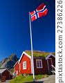 Norwegian flag 27386226