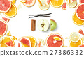 frame of citrus fruit 27386332
