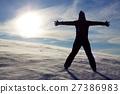 Winter silhoutte 27386983