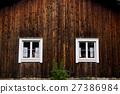 Wooden house facade 27386984