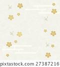 일본 종이, 일본풍 무늬, 벚꽃 27387216