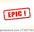 epic, vector, red 27387783