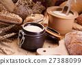 烘烤的 面包 早餐 27388099