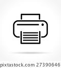 icon, print, printer 27390646