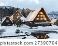 Winter Shirakawa Town 27390704