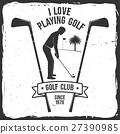 Golf club concept. 27390985