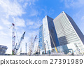 construction site, construction sites, tower building 27391989