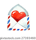 letter, love, heart 27393460