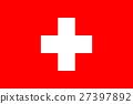 Flag of Switzerland. 27397892