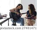 guitar, indoors, lesbian 27401471